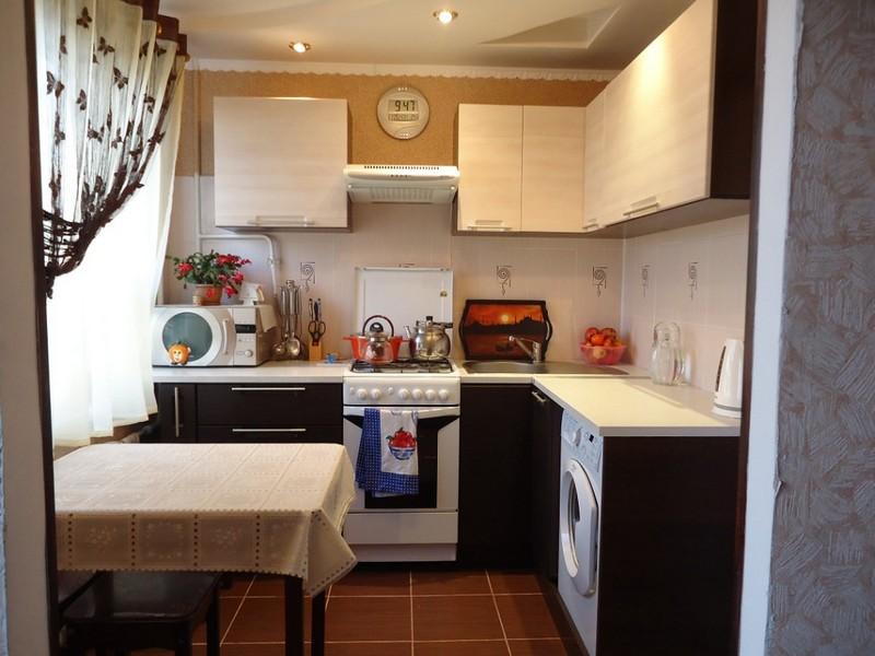 уютная маленькая кухня фото