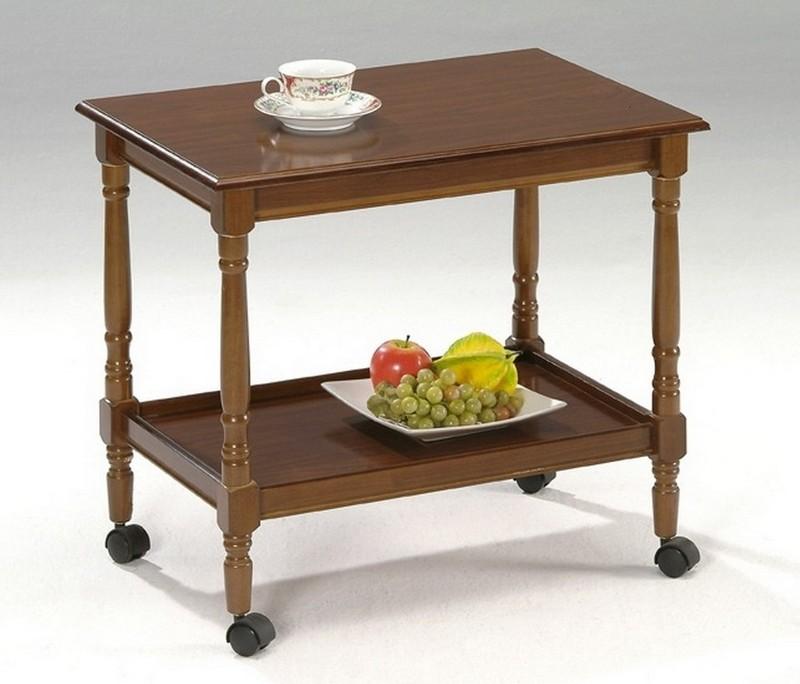 деревянный кофейный столик фото