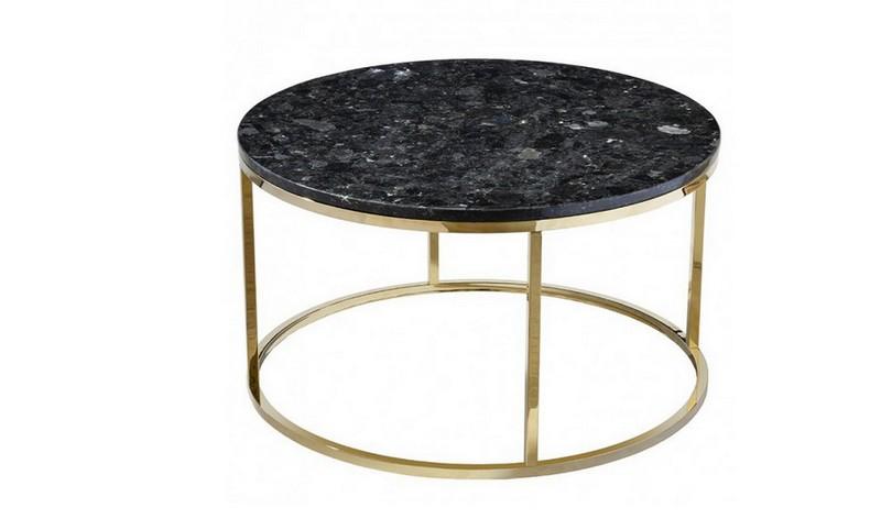 кофейный гранитный столик