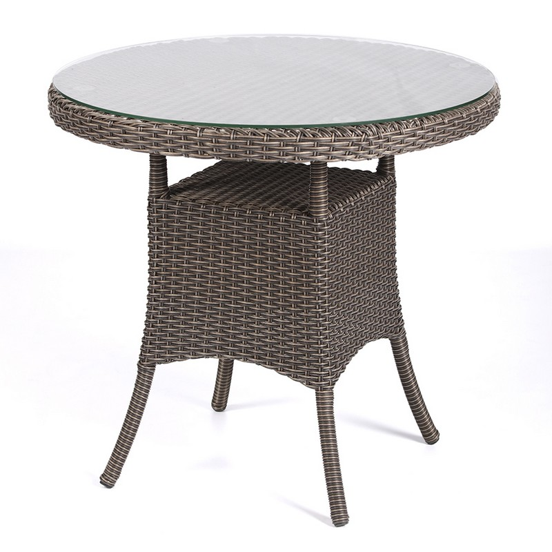 кофейный столик из ротанга фото
