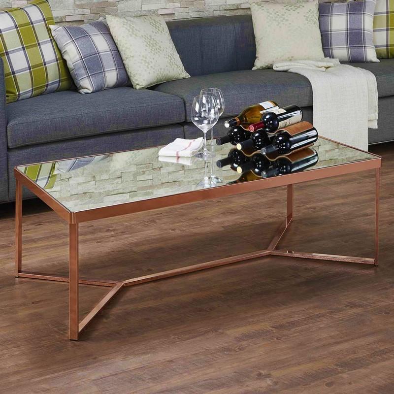 прямоугольный кофейный столик фото