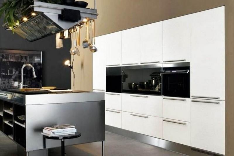 акриловые фасады для кухни фото