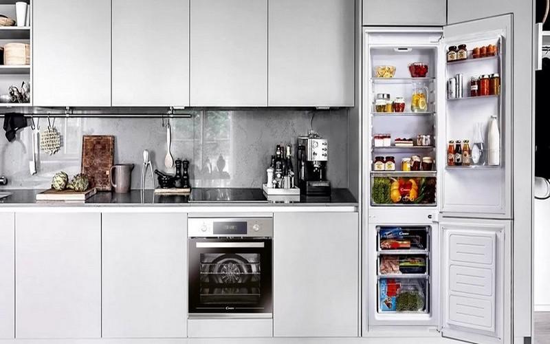 холодильник встроенный в нишу фото