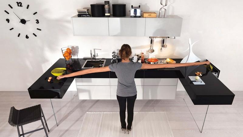 кухонный рабочий треугольник фото