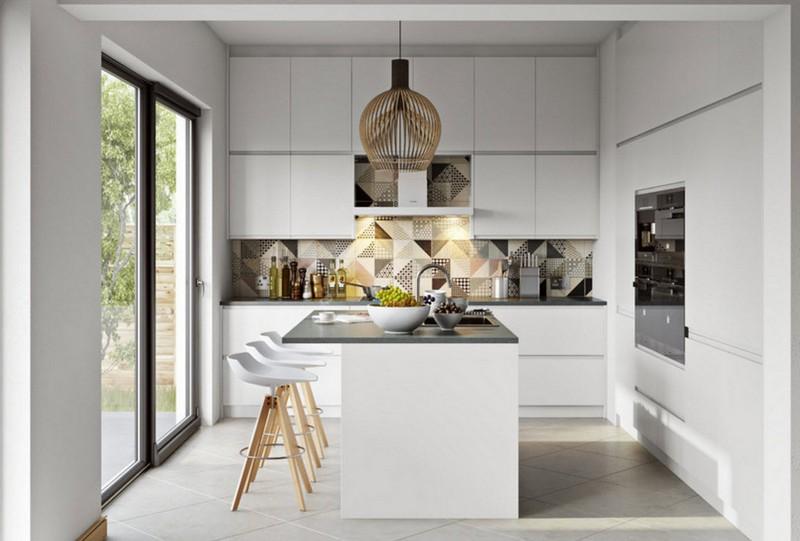 дизайн кухни с выходом на террасу фото