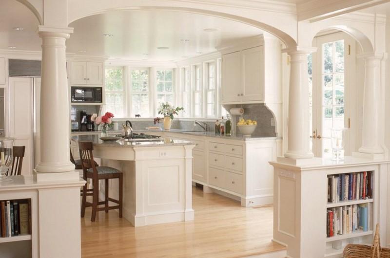 кухня с аркой фото
