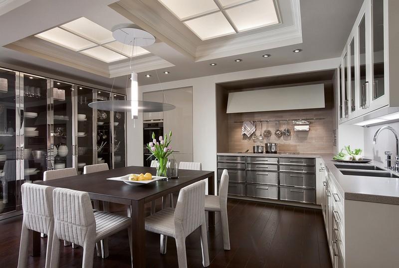 кухня столовая фото