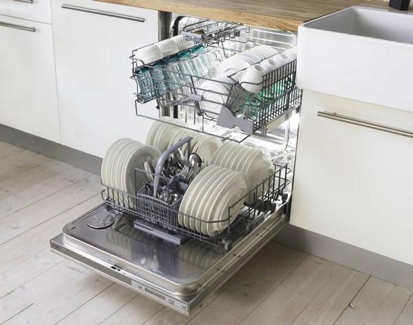 полностью встраиваемые посудомоечные машины фото