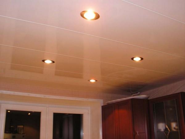 Потолок пвх на кухне своими руками фото 334
