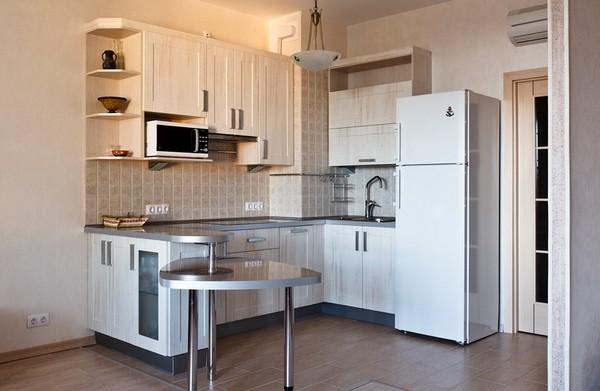 как разделить кухню на зоны фото