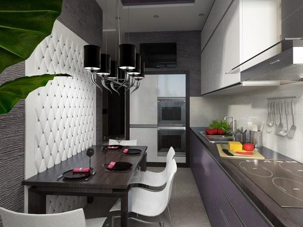 как зонировать кухню фото