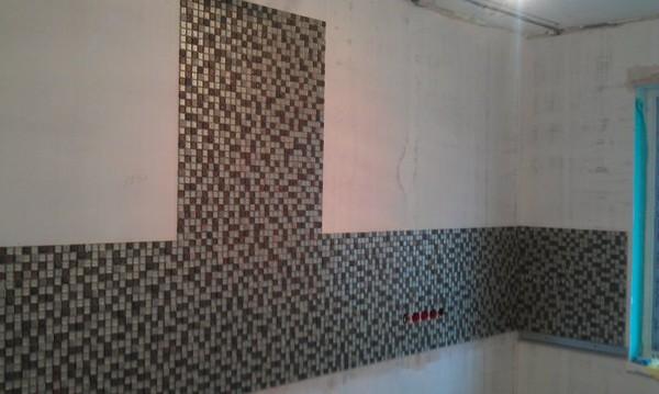 плитка на кухню фартук мозаика фото