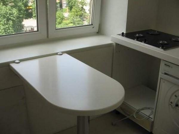 подоконник столешница кухонный фото