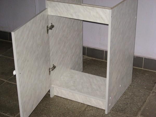 как собрать стол под мойку на кухне инструкция