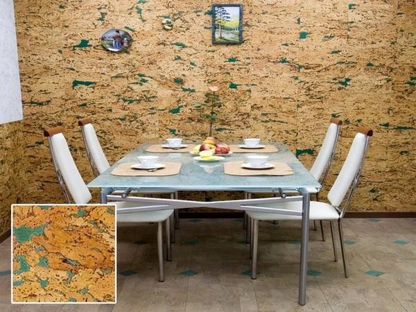 варианты отделки стен на кухне фото