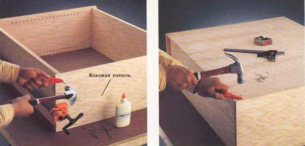 глубина навесных кухонных шкафов фото