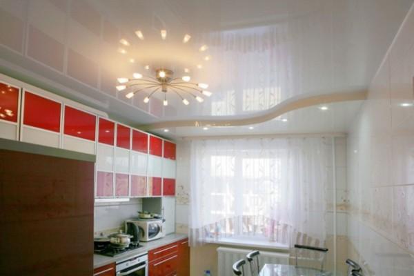 люстры для натяжных потолков для кухни фото