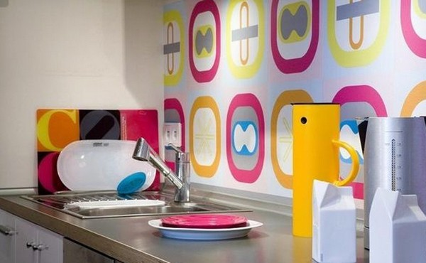 краска для стен на кухню фото