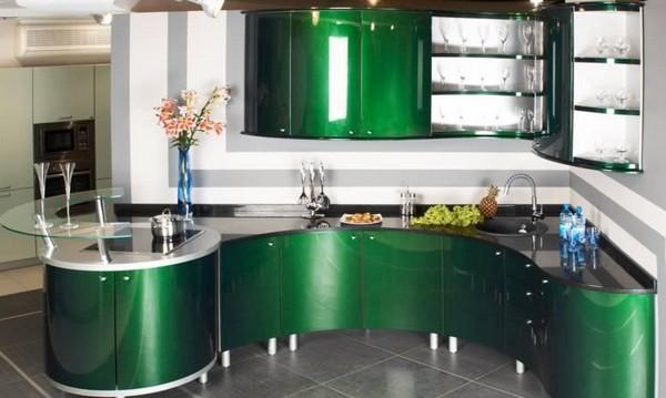 кухонный гарнитур из мдф фото