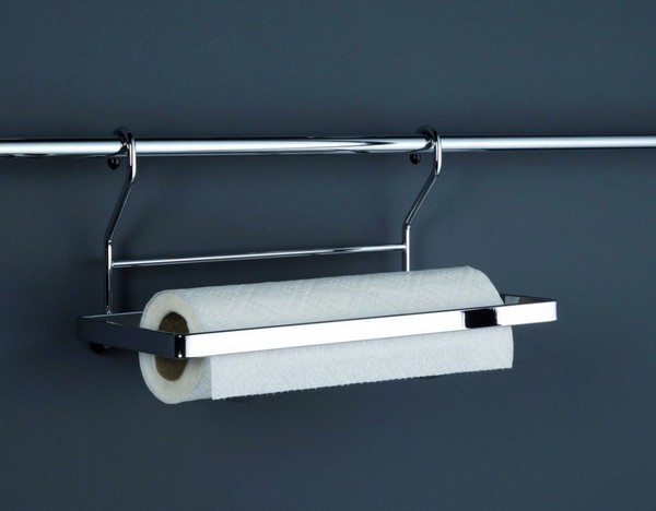 держатель для бумажных полотенец на рейлинг фото