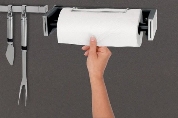 держатель металлический для бумажных полотенец фото