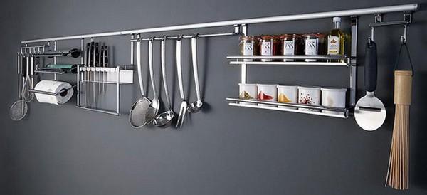 кухонный рейлинг фото