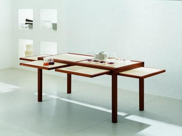 стол трансформер для маленькой кухни фото