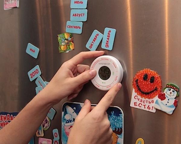 таймер на магните для кухни фото