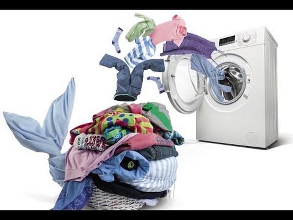 встраиваемая стиральная машина на кухне фото