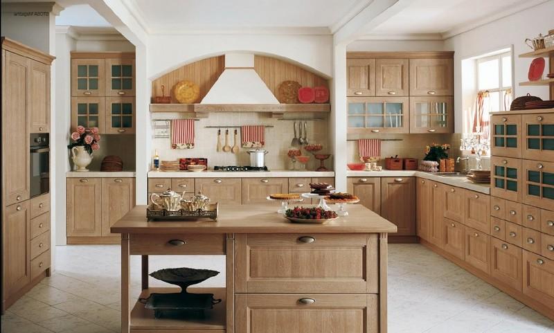 классические кухни в современном стиле фото