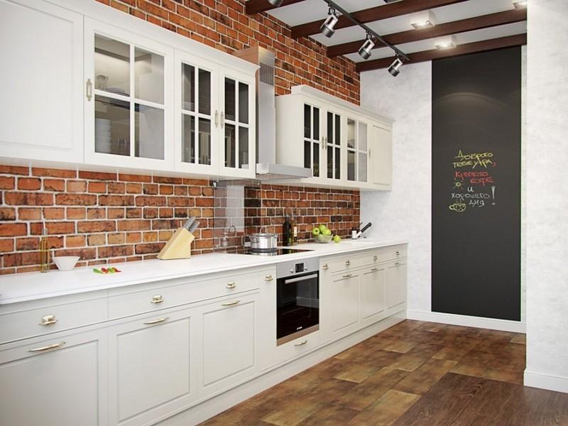 мебель для кухни в стиле лофт фото
