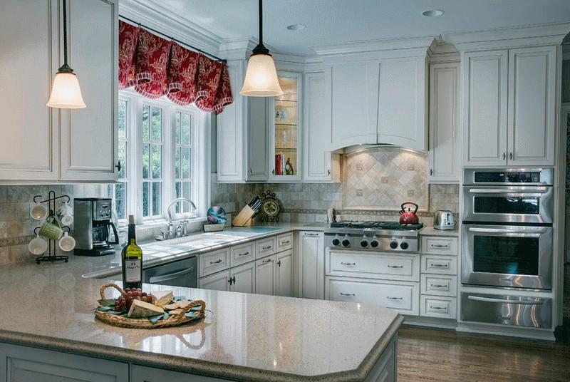 дизайн кухни прованс фото