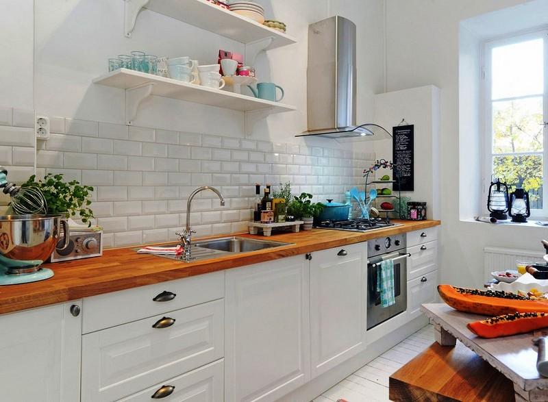 Кухня в скандинавском стиле своими руками