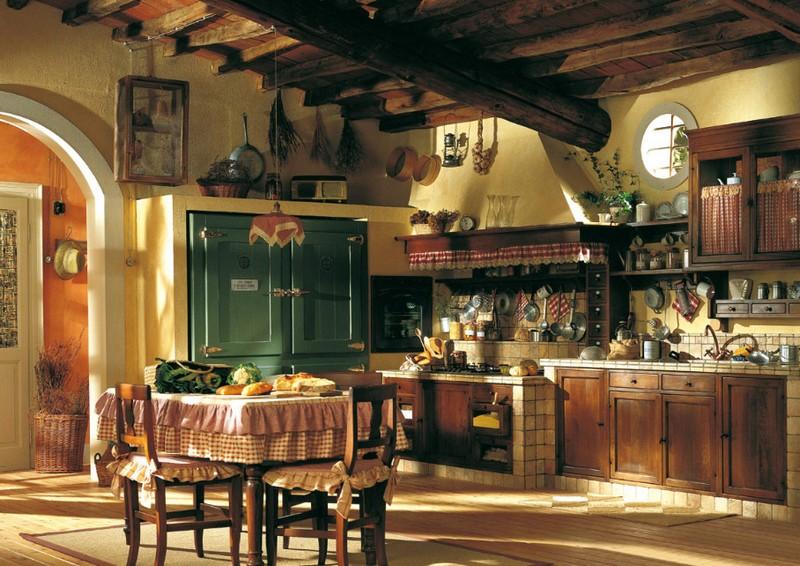 кухня в стиле деревенский прованс фото