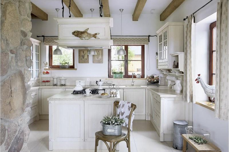 прованс в интерьере кухни фото