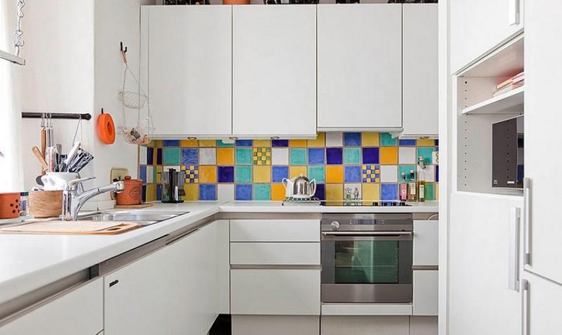 дизайн кухни маленькой площади фото