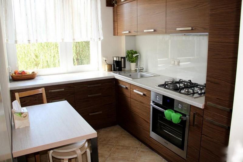 Идеи интерьера для маленькой кухни+фото
