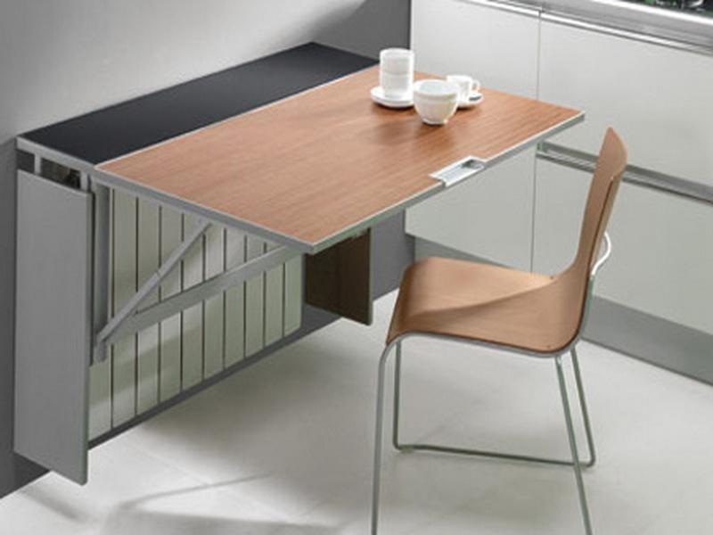стол пристенный откидной фото