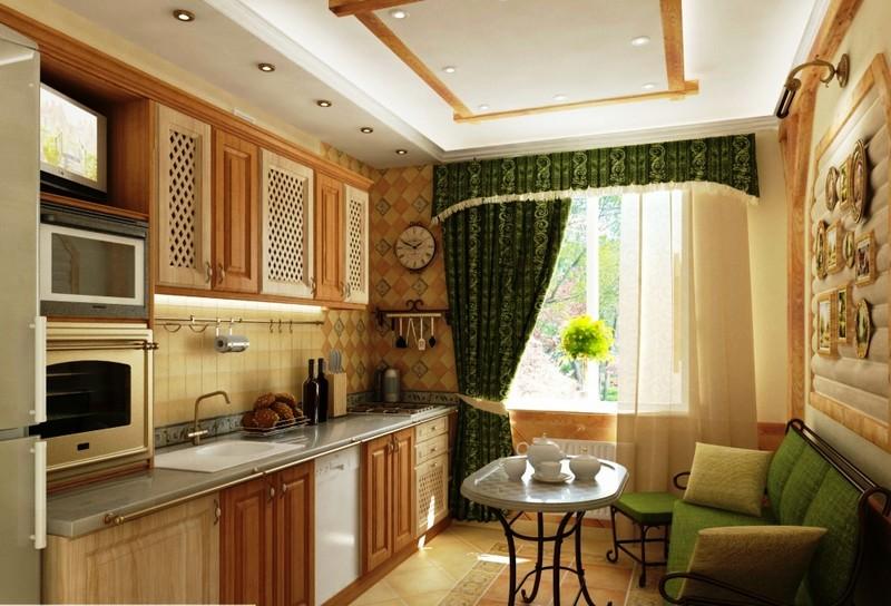 спальное место на кухне фото