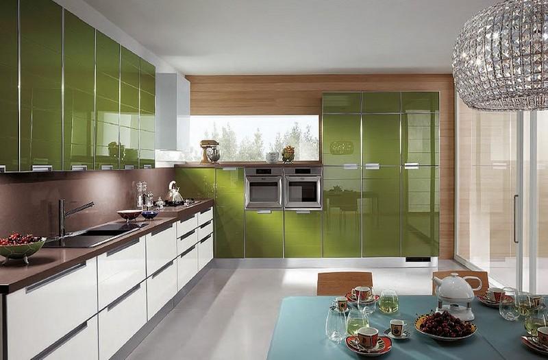 дизайн интерьера кухни в современном стиле фото