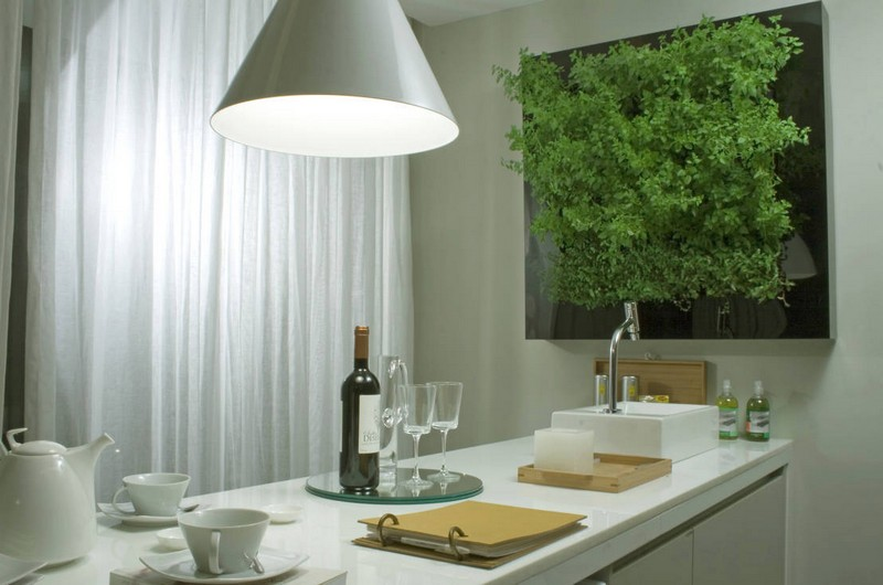 эко дизайн кухни фото