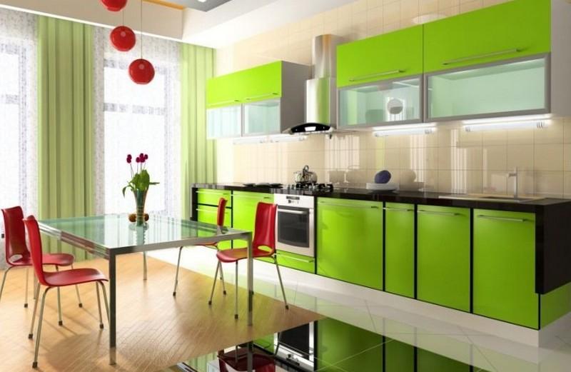 кухня лайм фото