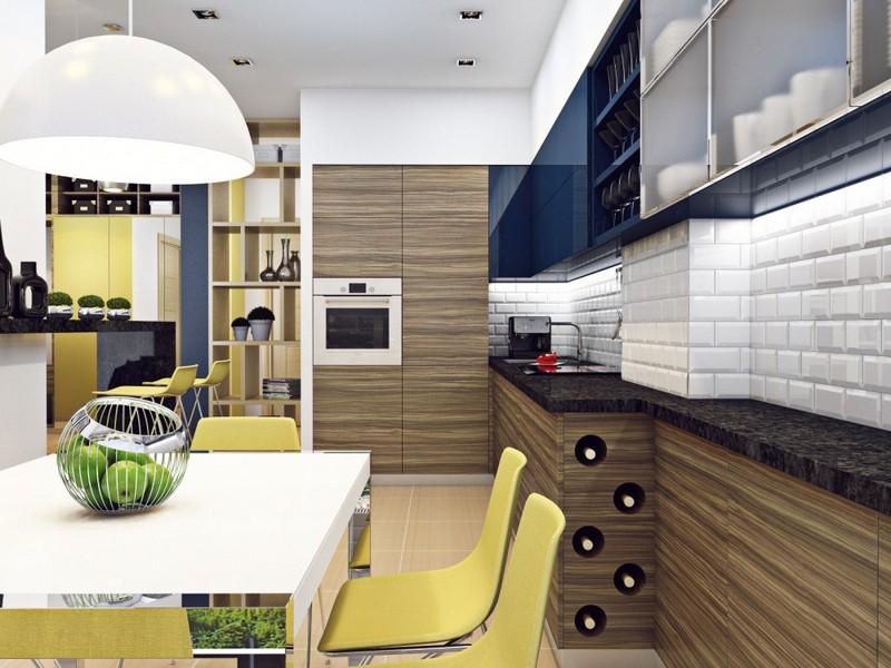 кухня в эко стиле фото