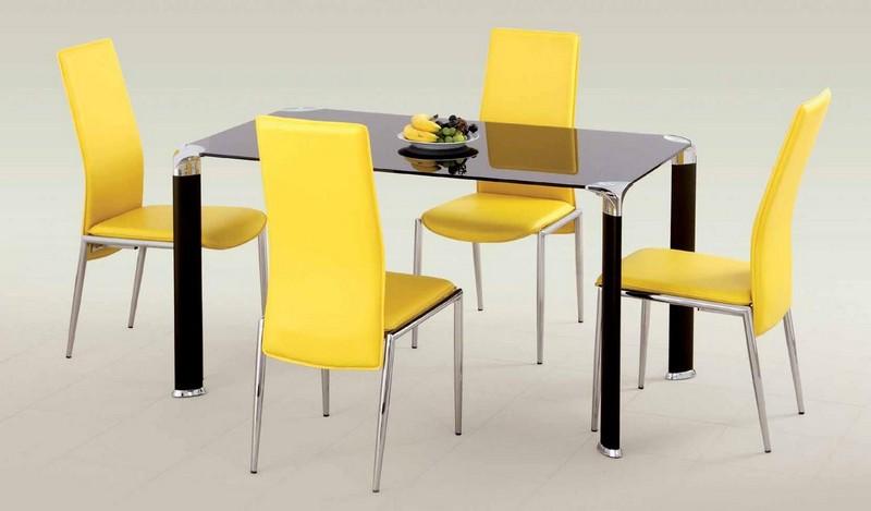 столы для кухни со стеклянной столешницей фото
