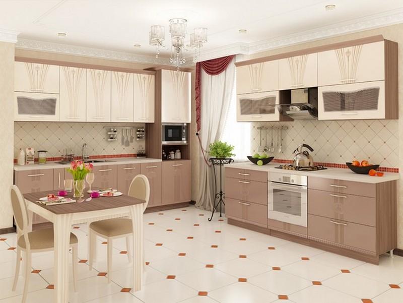 цвет кухни по фэн шуй фото