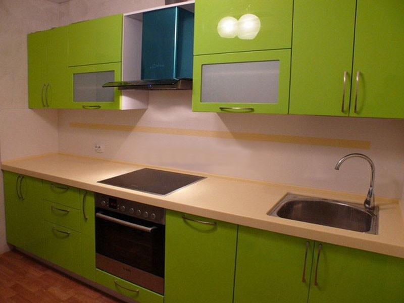 дизайн оливковой кухни фото