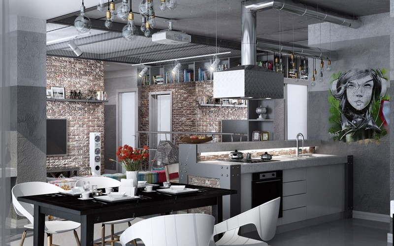 кухня фьюжн фото