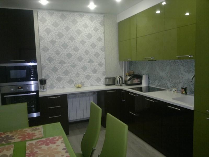 оливковая кухня фото
