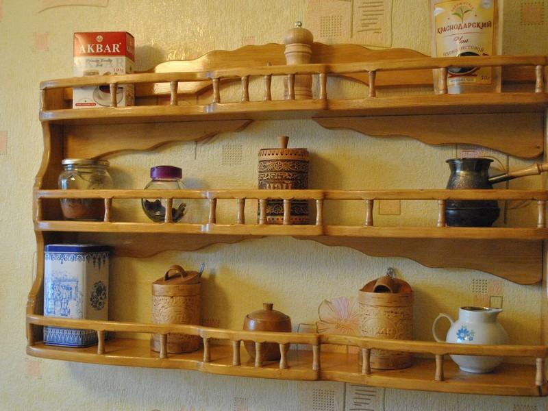 Декоративная полочка на кухню своими руками 59
