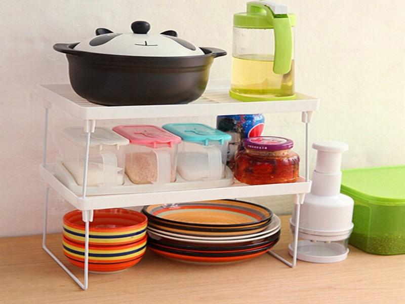 пластиковые полки для кухни фото